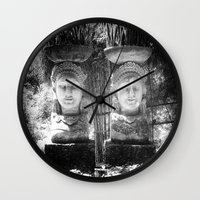 equality Wall Clocks featuring Equality by Sandy Broenimann