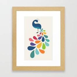 Dreamy Petal Framed Art Print