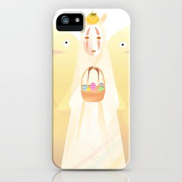 Easter Kaonashi iPhone Case