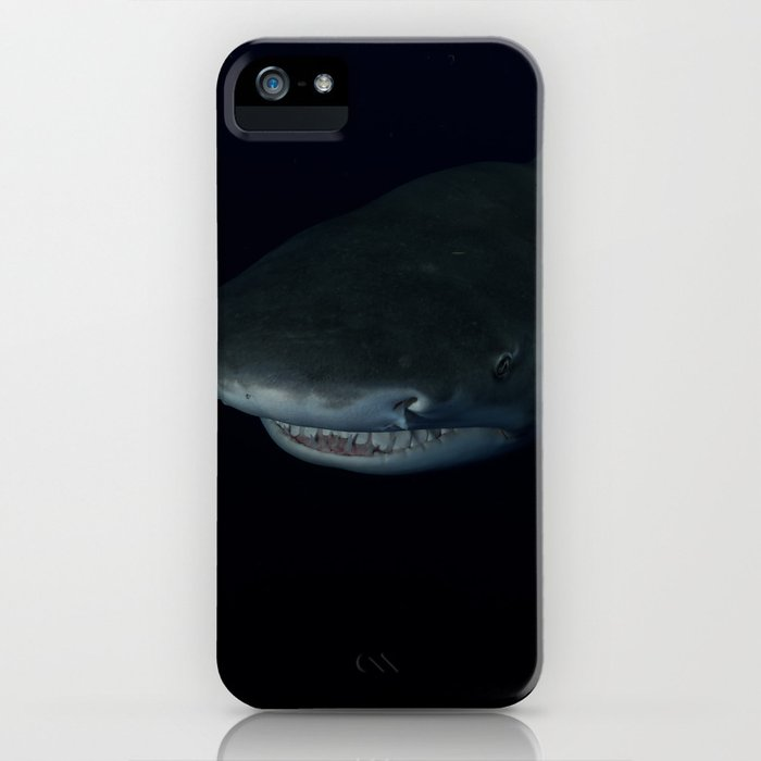 Shark After Dark iPhone Case