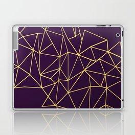 Ultra Purple Geo Laptop & iPad Skin