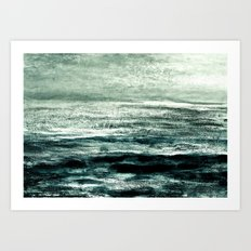 ocean foam II Art Print