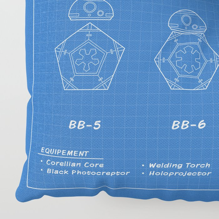 Astromech Evolution Floor Pillow