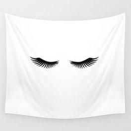 Eyelashes Print,Makeup Poster,Bathroom Decor,Girls Room Decor,Girls Bedroom Decor,Home Decor Wall Tapestry