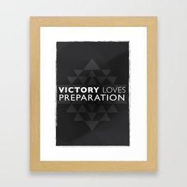 Victory Framed Art Print