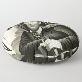 Abraham Lincoln - Sixteenth President of the United States Floor Pillow
