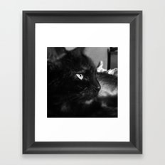 Side Profile Framed Art Print