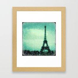Paris... Je t'aime Framed Art Print