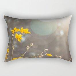 The first rays of light Rectangular Pillow