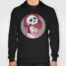Blurry Red Vision Hoody