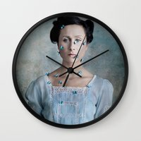 valentina Wall Clocks featuring Valentina by Maria Kanevskaya