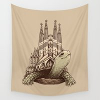 architecture Wall Tapestries featuring Slow Architecture by Enkel Dika