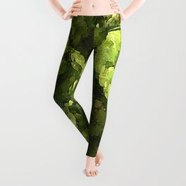 Fresh Cascade Hops Leggings