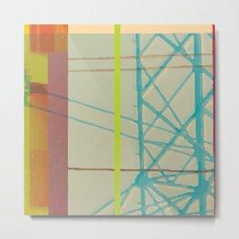 Abstraction VII Metal Print