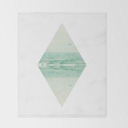 Parallel Waves Throw Blanket