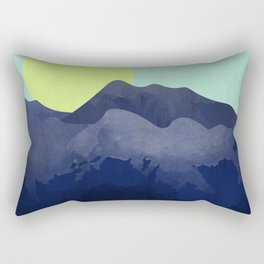 Sunset Mountain Rectangular Pillow