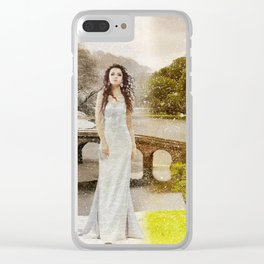 Winter is coming...Winter is here. Clear iPhone Case