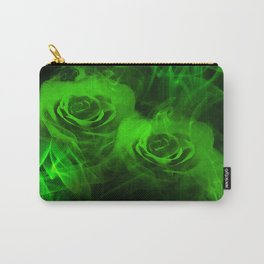 Smokey Roses Carry-All Pouch