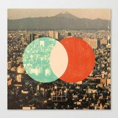 Tokyo Split Canvas Print