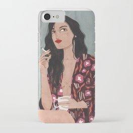 Coffe and cigarettes iPhone Case