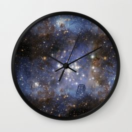 Adventures in Time and Space Wall Clock