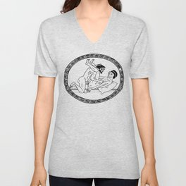 PRIDE: Since Ancient Times - Males Unisex V-Neck