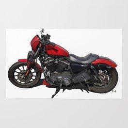 Harley original artwork Rug