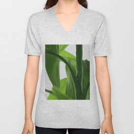 Bamboo Butterly Unisex V-Neck