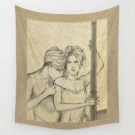 valentine kiss #8 Wall Tapestry