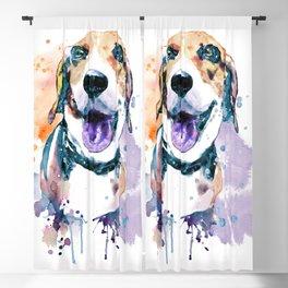 Sweet Beagle Blackout Curtain
