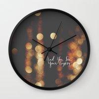 gypsy Wall Clocks featuring Gypsy by shelby | gordon
