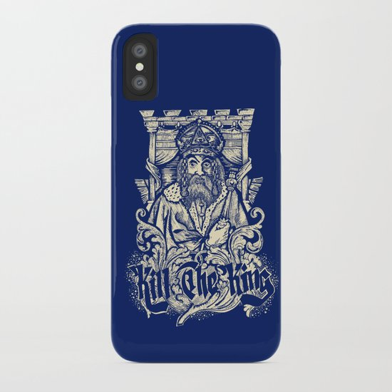 Kill The king iPhone Case