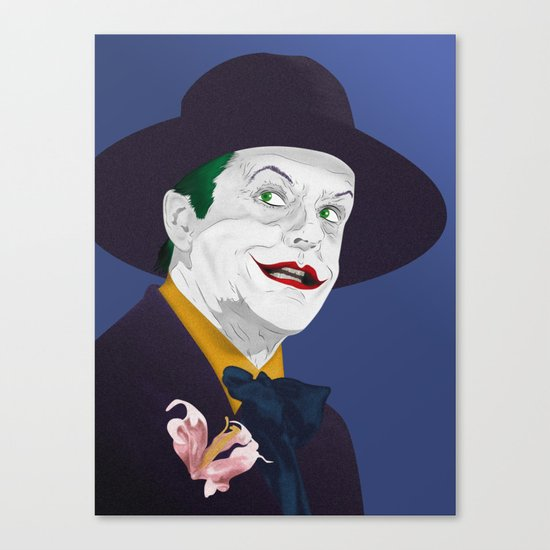 Joker Nicholson Canvas Print