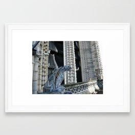 Those days in Paris (1) Framed Art Print