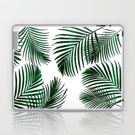 Tropical Palm Leaf Laptop & iPad Skin