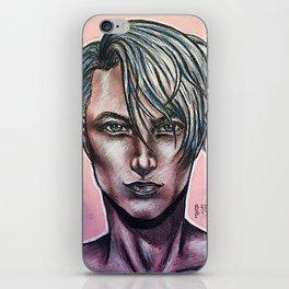 Realistic Viktor Nikiforov iPhone Skin