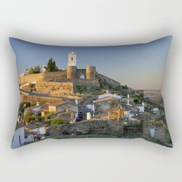 Monsaraz panoramic dawn Rectangular Pillow