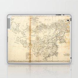 Map of China Chinese-Tartary & Tibet (1834) Laptop & iPad Skin