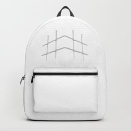 """HI Challenges: cubed up, crossed out, hashed out - """"#hilitelife"""" Backpack"""