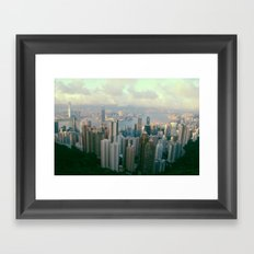 The Peak Framed Art Print