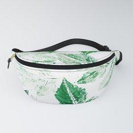 Green foliage Fanny Pack