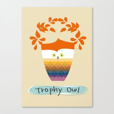 Trophy Owl Canvas Print
