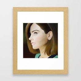 Jenna Coleman Framed Art Print