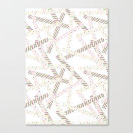 Washi [White] Canvas Print