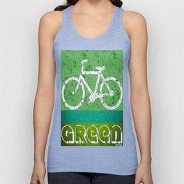 bicycle Unisex Tank Top