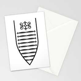 Dress Ornaments Stationery Cards