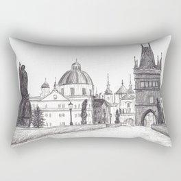 Charles Bridge in Prague, Czech Republic Rectangular Pillow