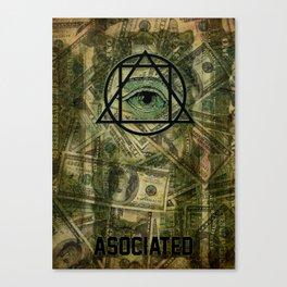 Killuminati Canvas Print