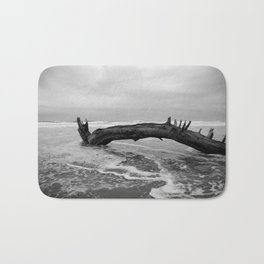 Driftwood at Cape Lookout Bath Mat
