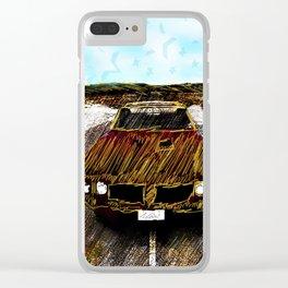 Star Car Clear iPhone Case